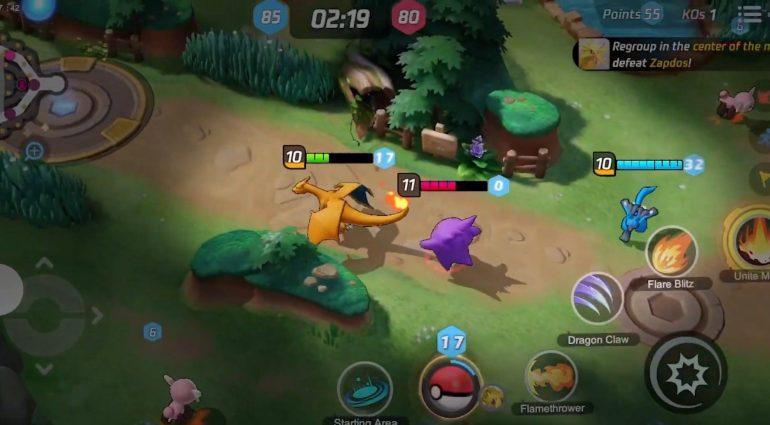 Pokémon Company e Tencent anunciam 'Pokémon Unite ...